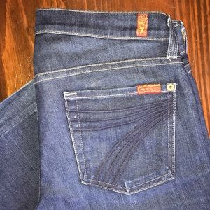 7 for all Mankind wide / bootcut / USA / Nordstrom
